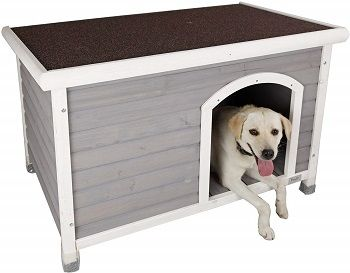 Petsfit Wooden Outdoor Dog House review