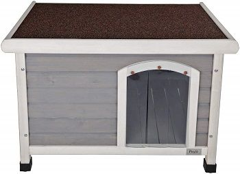 Petsfit Wooden Outdoor Dog House