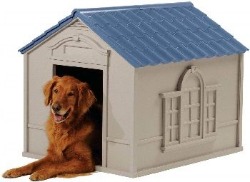 Suncast DH350 Deluxe Dog House review