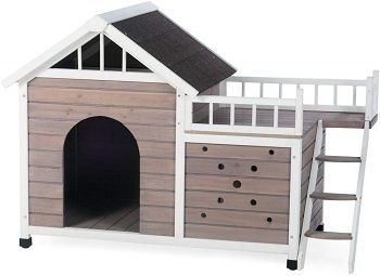 Boomer & George Beacon Dog House With Sunning Side Deck