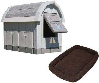 ASL Solutions Grey Insulated Dog Palace Combo Versions