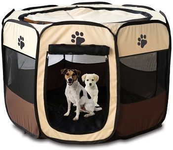 HORING Large Pen Kennel for Dogs