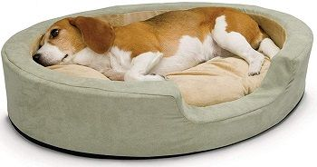 K&H Pet Products Thermo-Snuggly Sleeper Heated Pet Bed