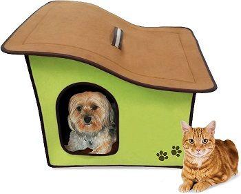 Penn-Plax Portable Soft Dog House