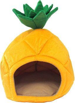 YML Pineapple Yellow Pet Bed