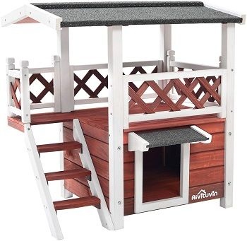 Aivituvin Wooden Dog House