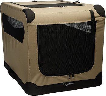 AmazonBasics Portable Soft Dog Travel Crate