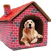 Best 5 Soft Plush Fabric Indoor Dog Houses In 2021 Reviews