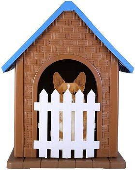 Clearance Sales Indoor Outdoor Plastic Dog House