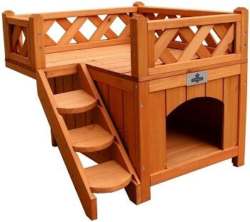Confidence Pet Wooden Dog House