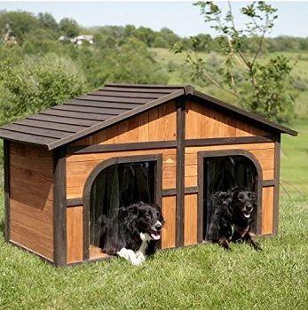 Eshopzone Extra Large Solid Wood Dog House