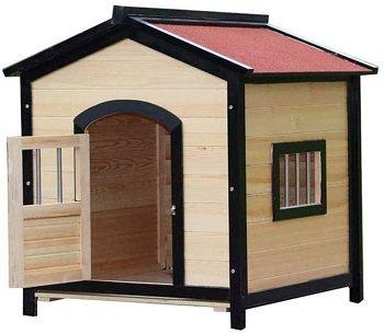 JTKDL Pet Wooden Dog House