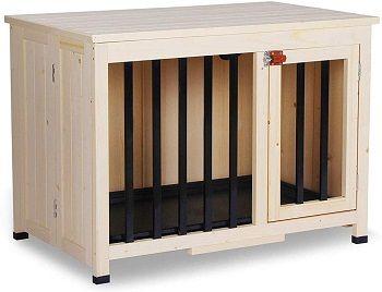Lovupet Wooden Portable Foldable Pet House