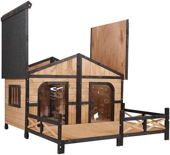 PawHut Wooden Large Dog House review