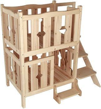 Petsfit Wooden Pet Bed