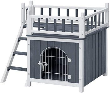 Tangkula Pet Dog House review
