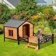 Top 5 Elevated & Raised Dog Houses You Can Get In 2021 Reviews