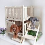 Top 5 Two Story Dog House With Stairs & Balcony Reviews